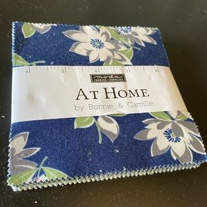 """At Home Camille Moda Fabrics Charm Pack 5"""" Squares"""